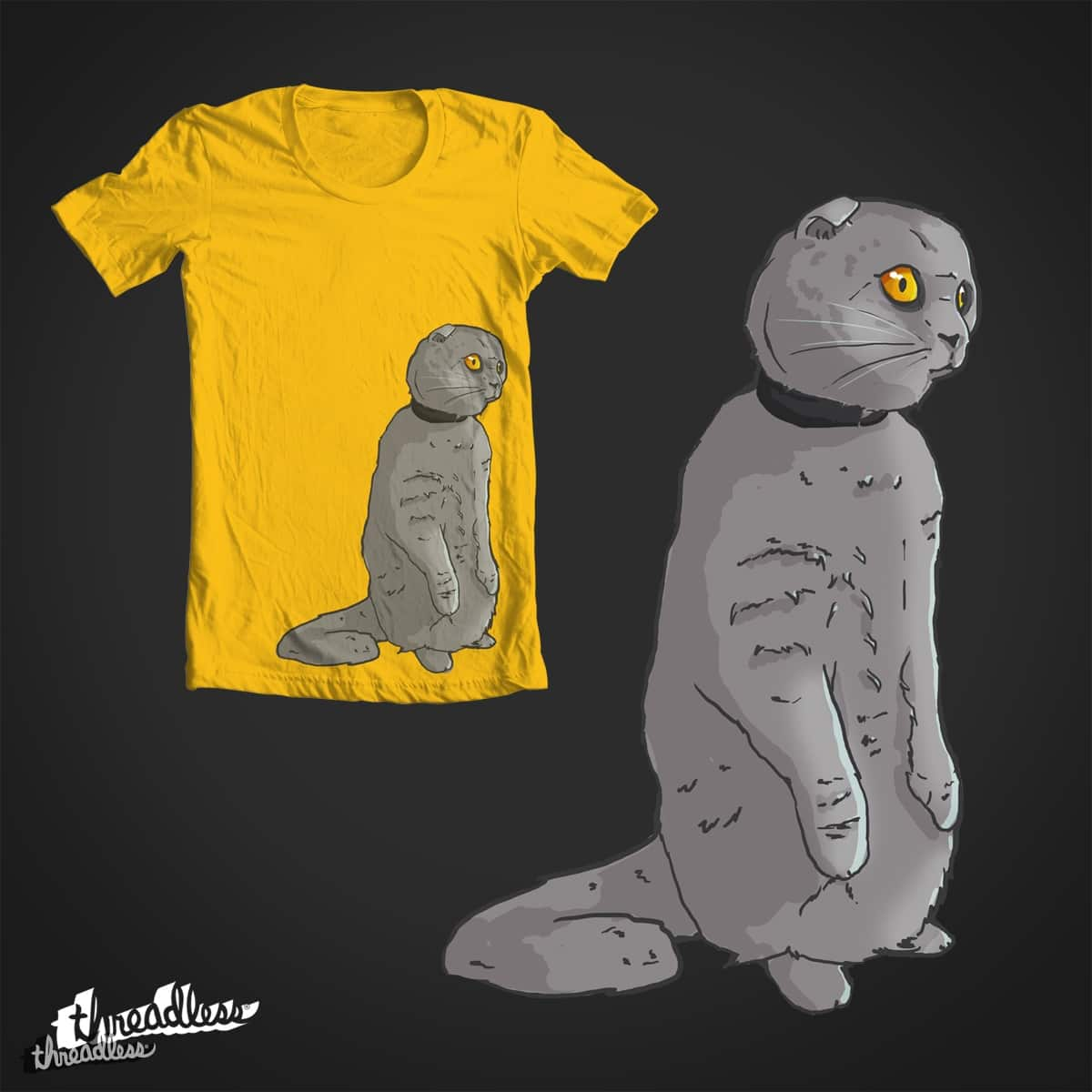 Tv Cat by Larage on Threadless