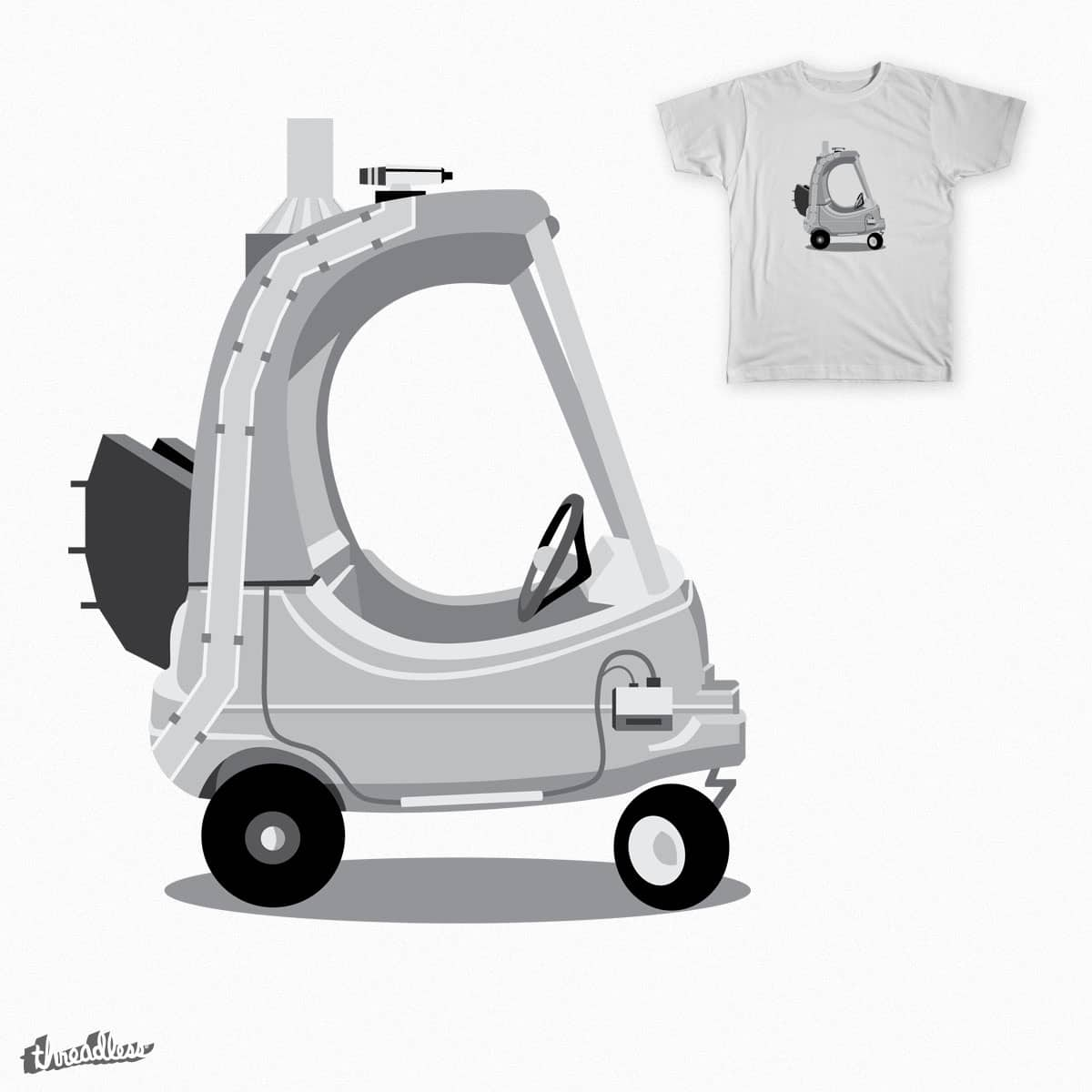 Time Travel Kid by robthebarber7 on Threadless