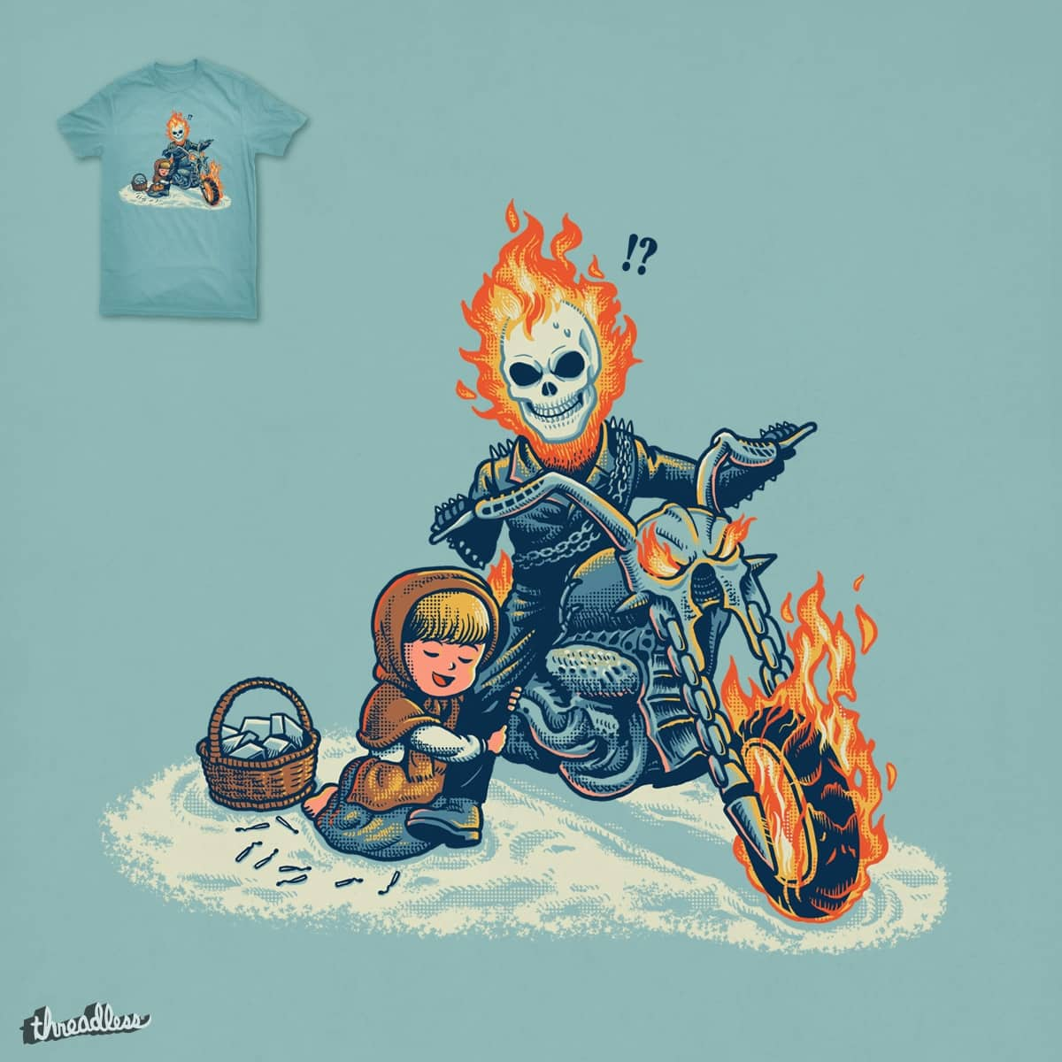Don't Leave Me by ben chen on Threadless
