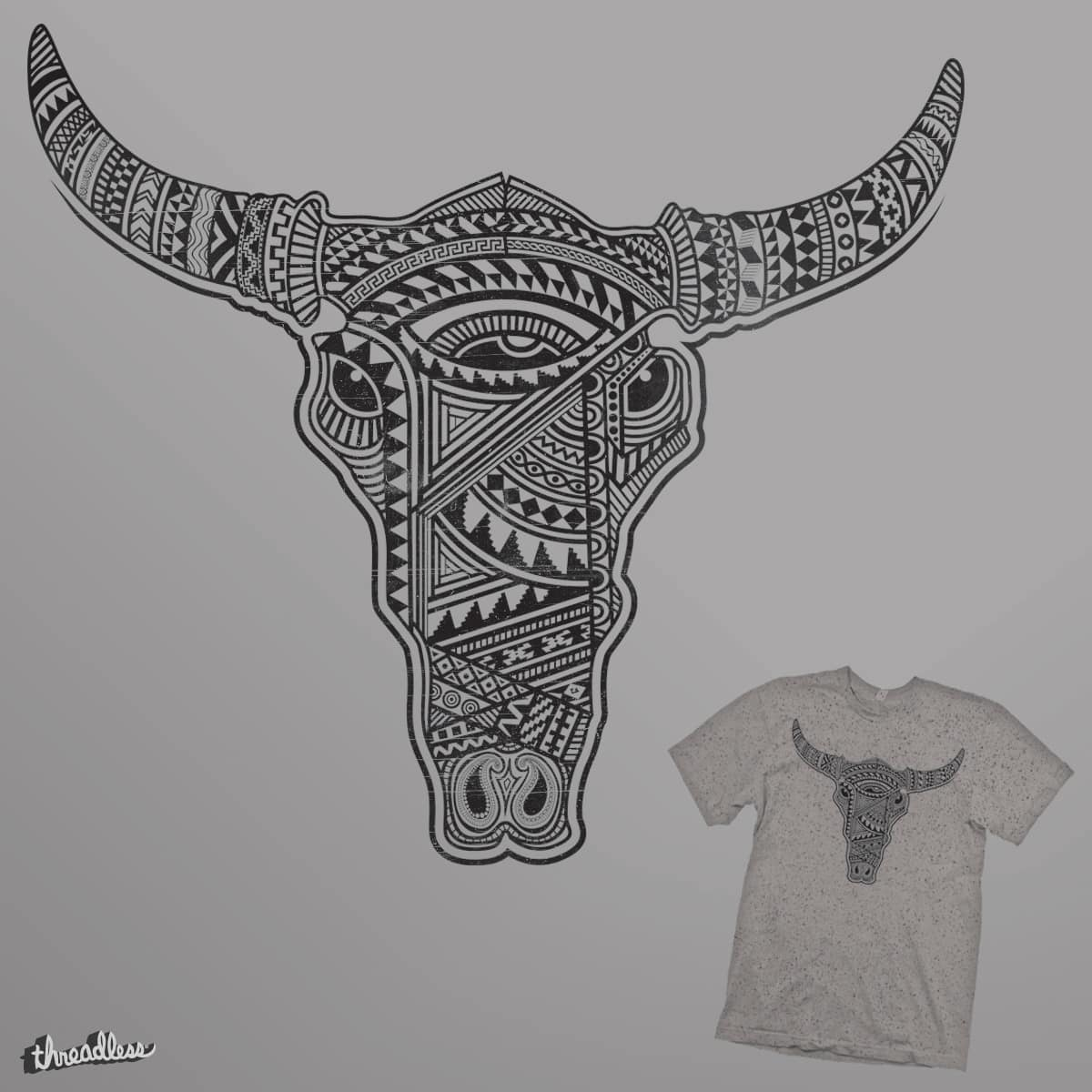 Cattle Pattern by parallelish on Threadless