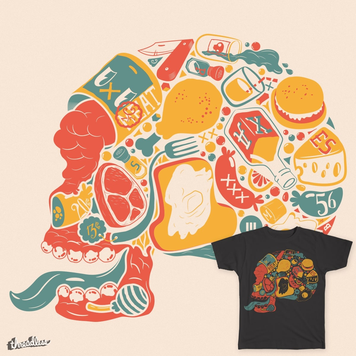 I am what I eat by Mo-jo on Threadless