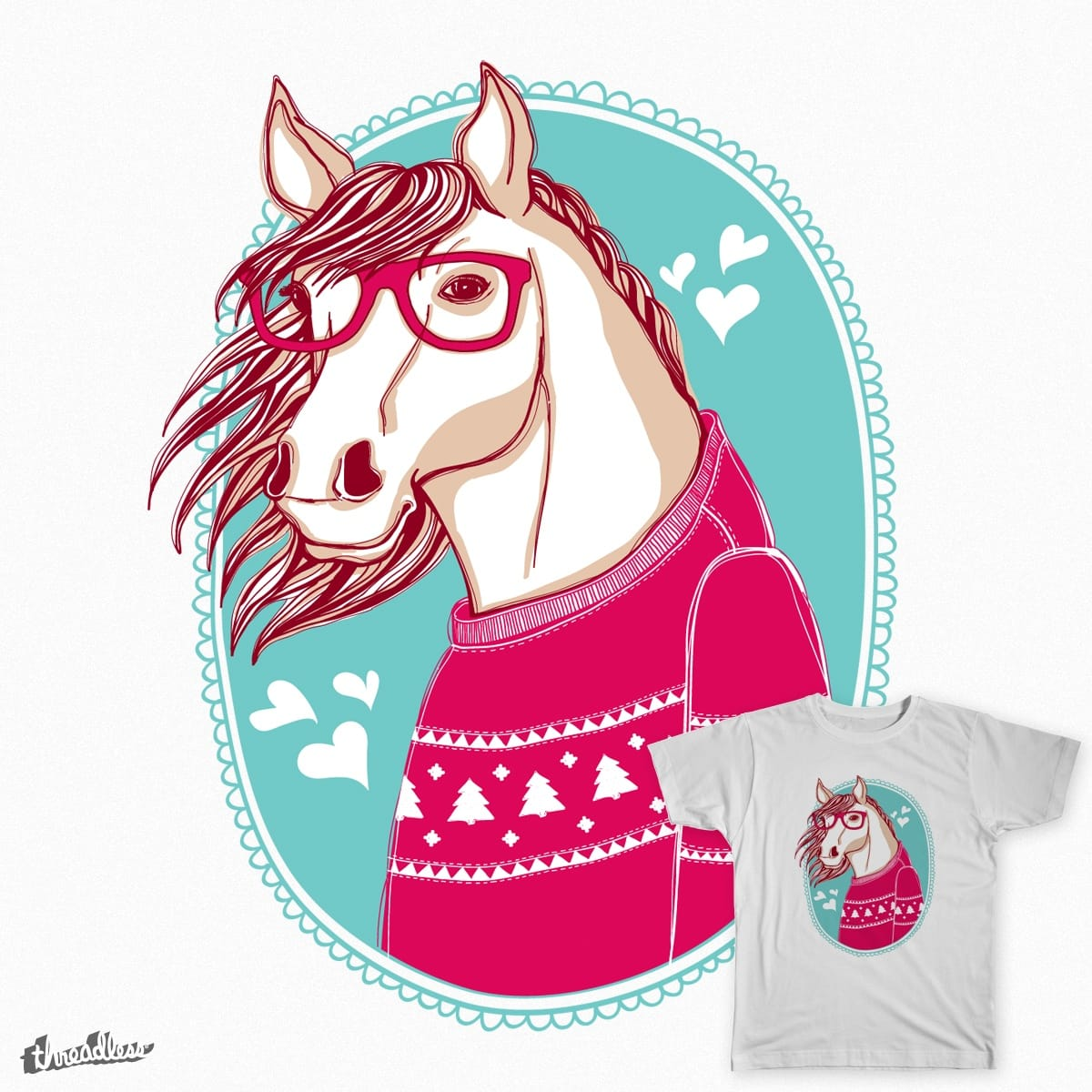 horse by moryachok on Threadless