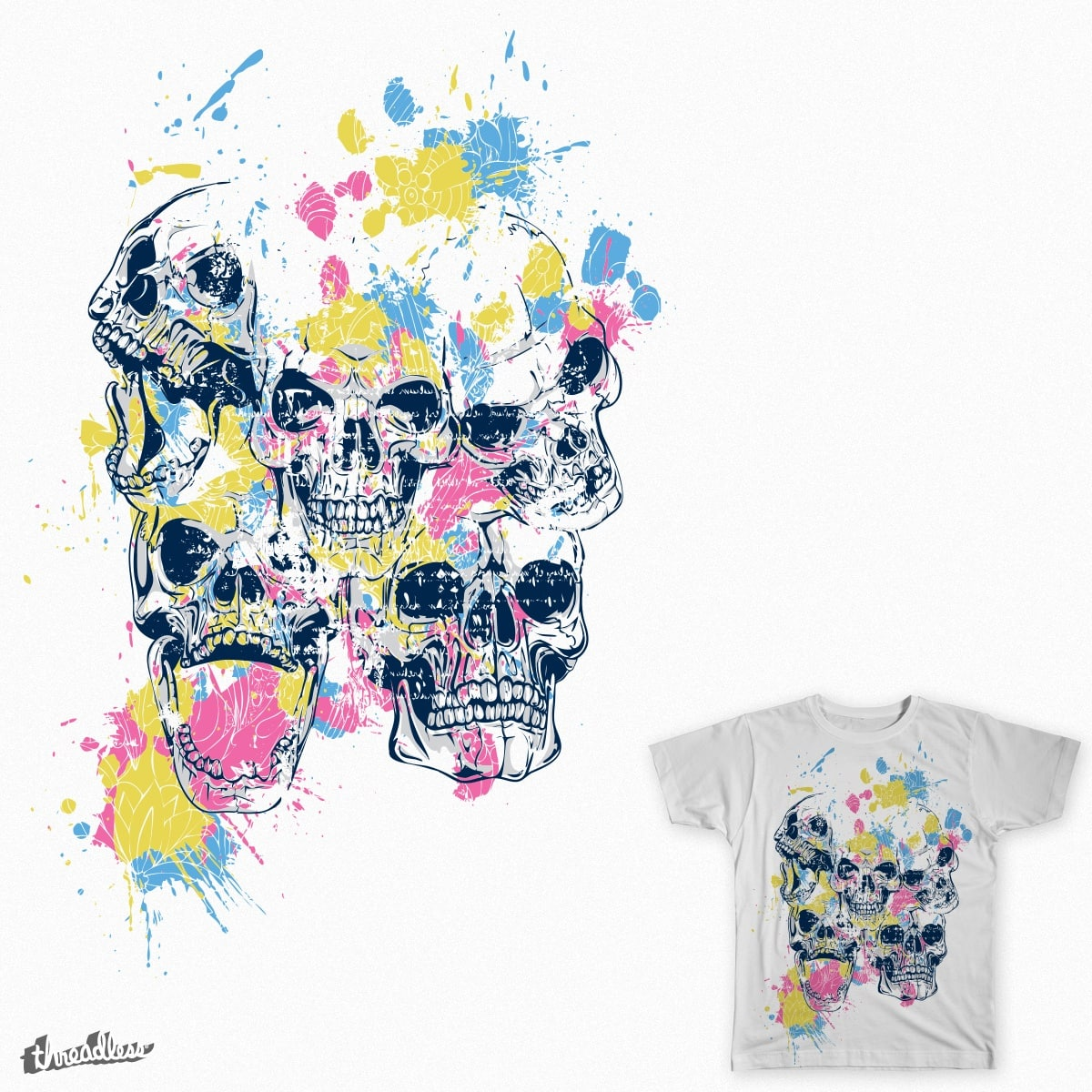 Skulls by andresmm91 on Threadless