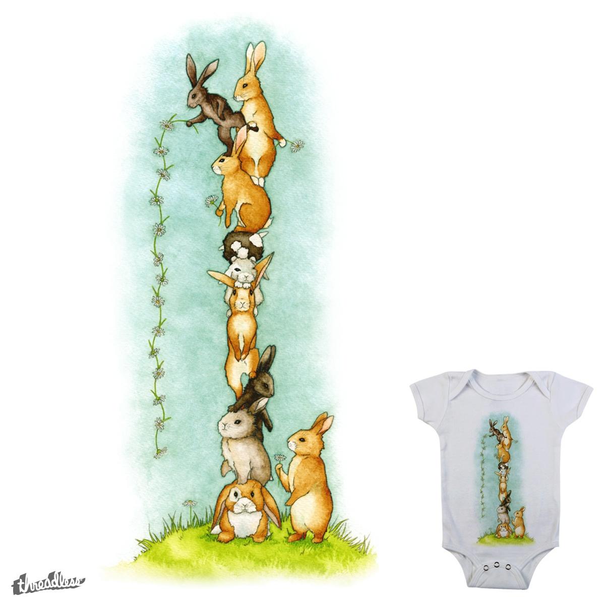 Daisy Chain by HelloLittleWolf on Threadless