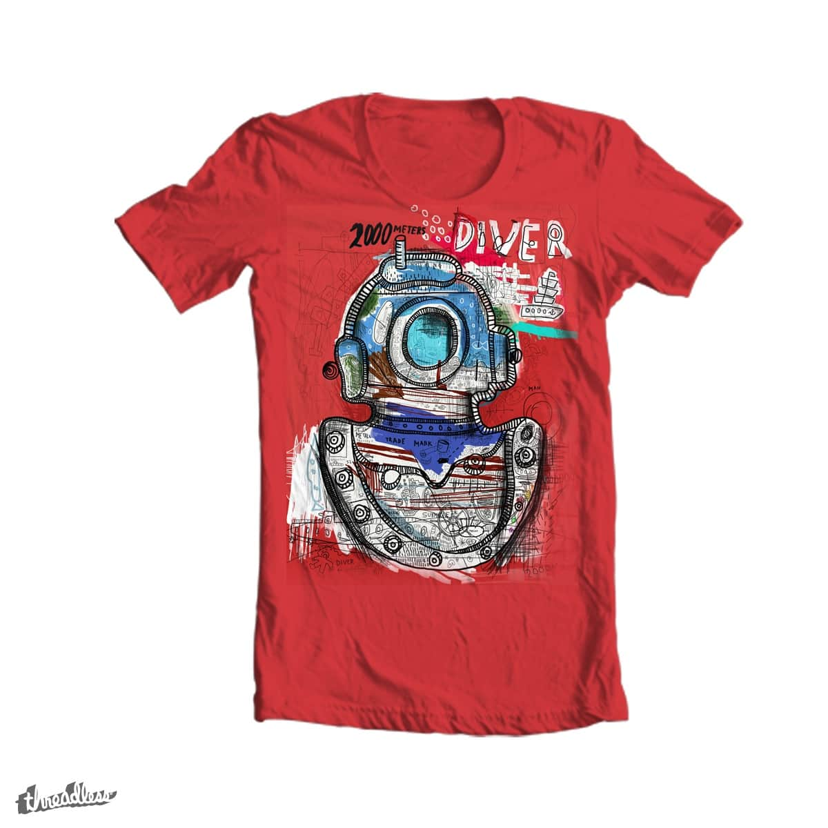 Diver by Gruv7 on Threadless