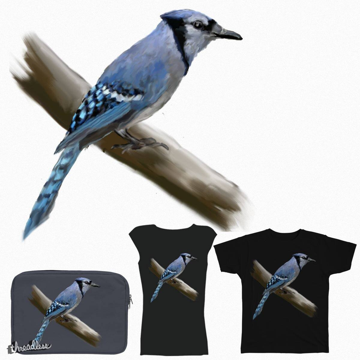 Blue Jay by Gottheart on Threadless