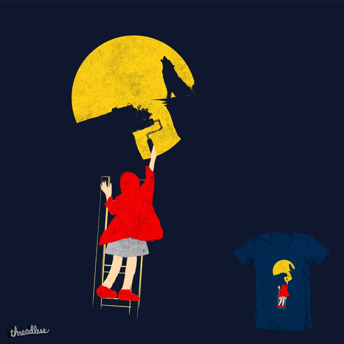 End of a legend by okydelarocha on Threadless