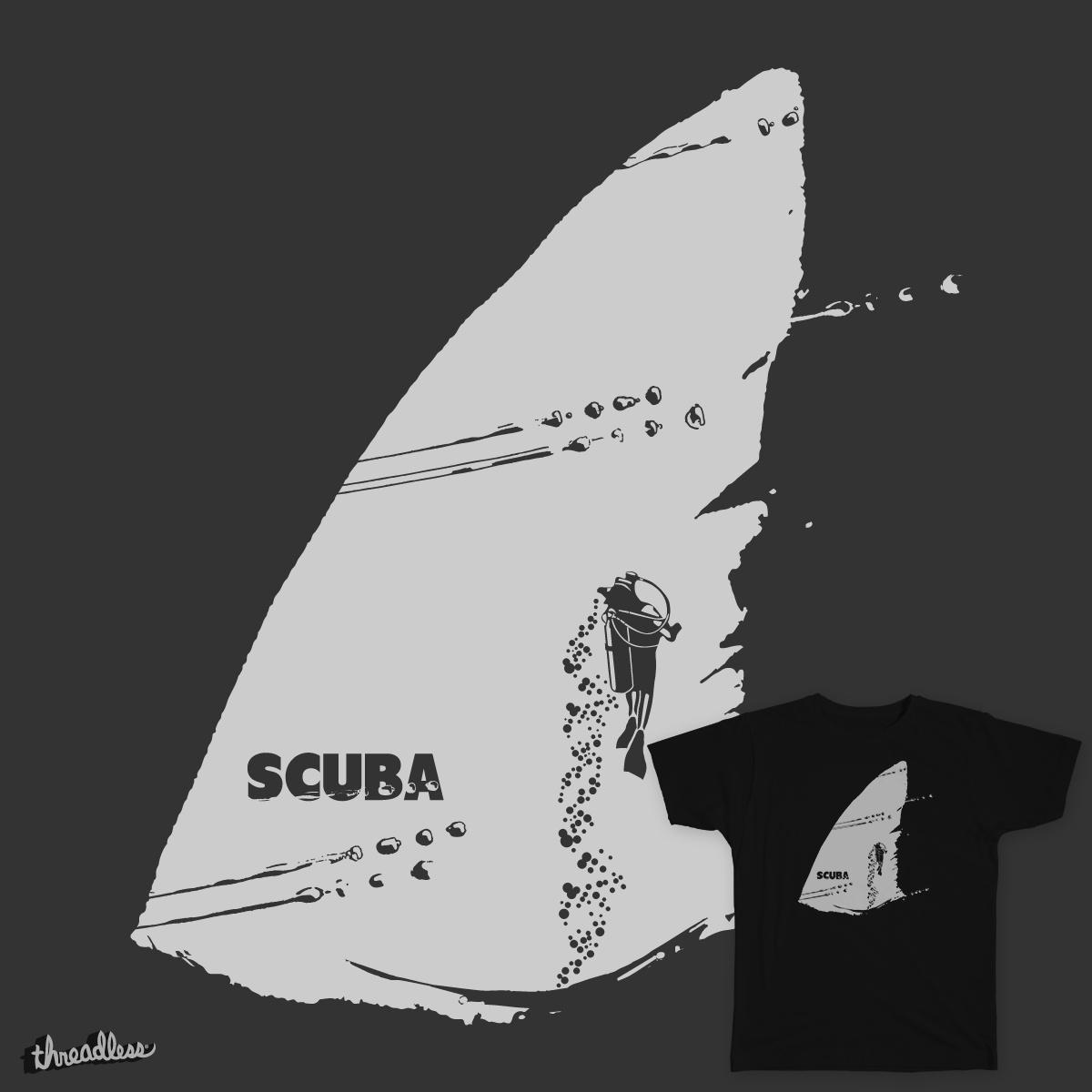 Scuba Shark by DenVeegerd on Threadless