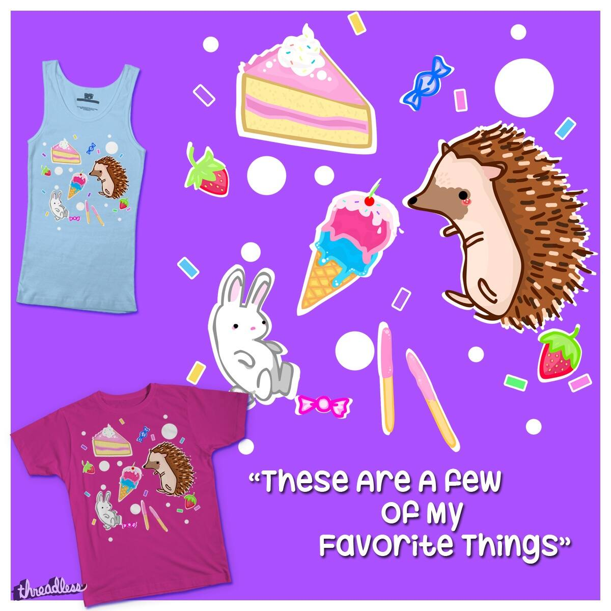These Are A Few Of My Favorite Things by Littlebearsyd on Threadless