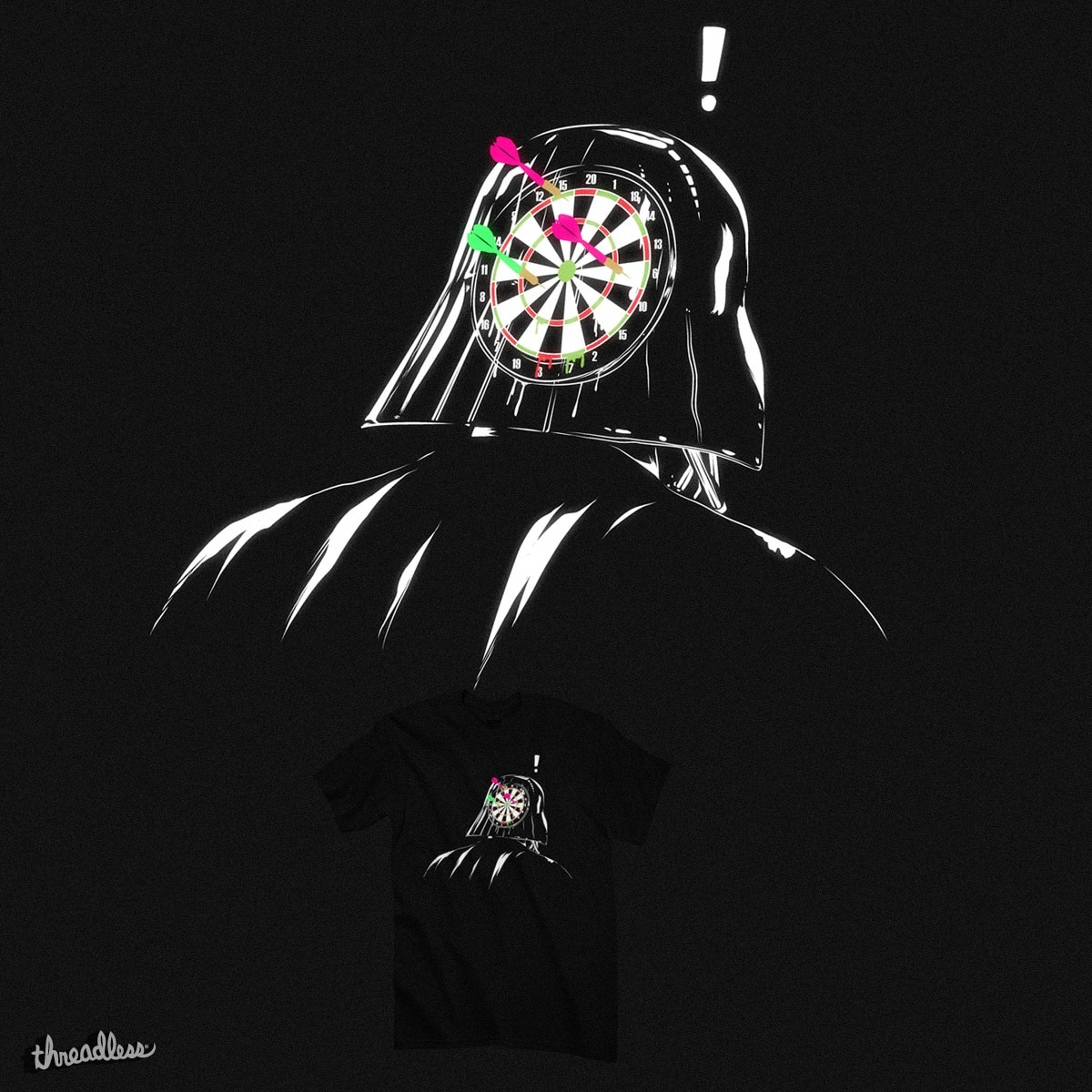 Dart Game by kooky love on Threadless