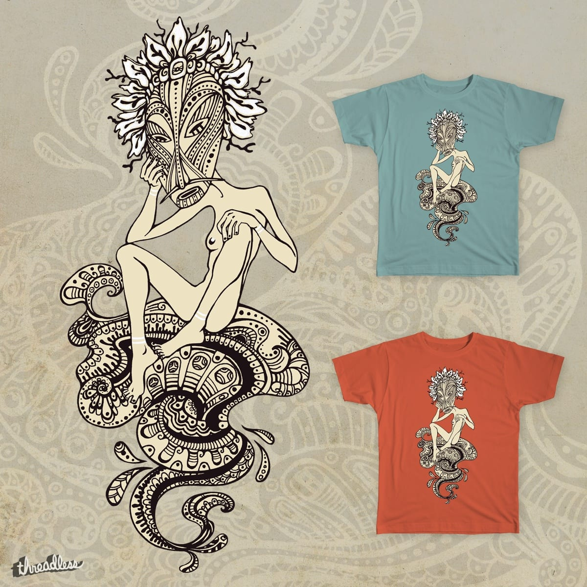 First woman by Sudjino on Threadless
