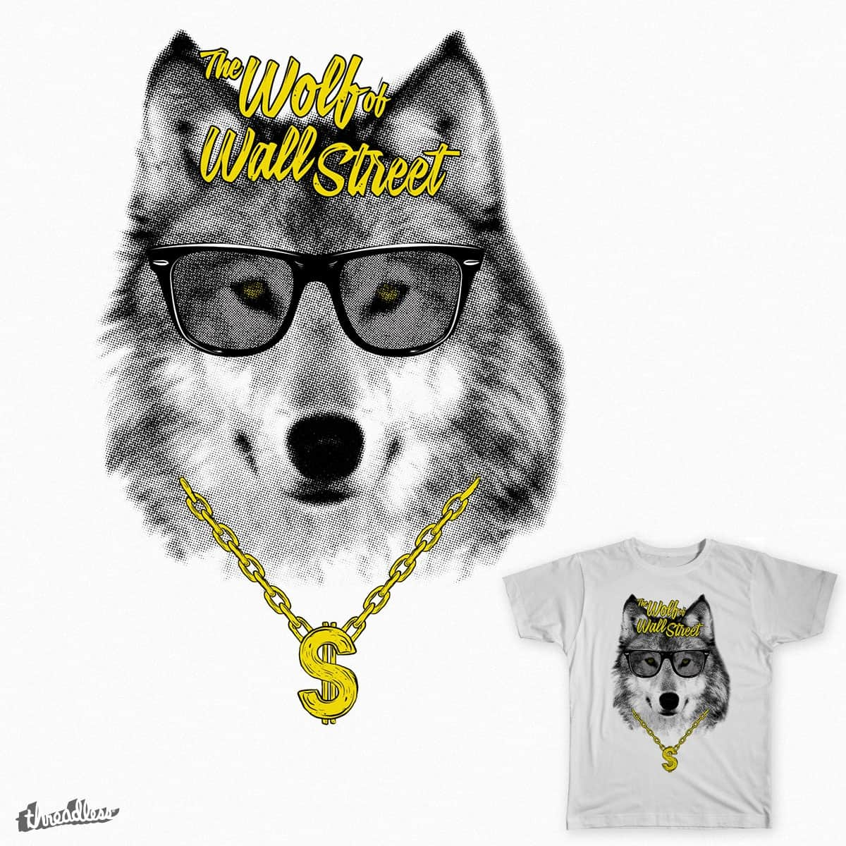 The Wolf of Wall Street by rohan.jha.792 on Threadless