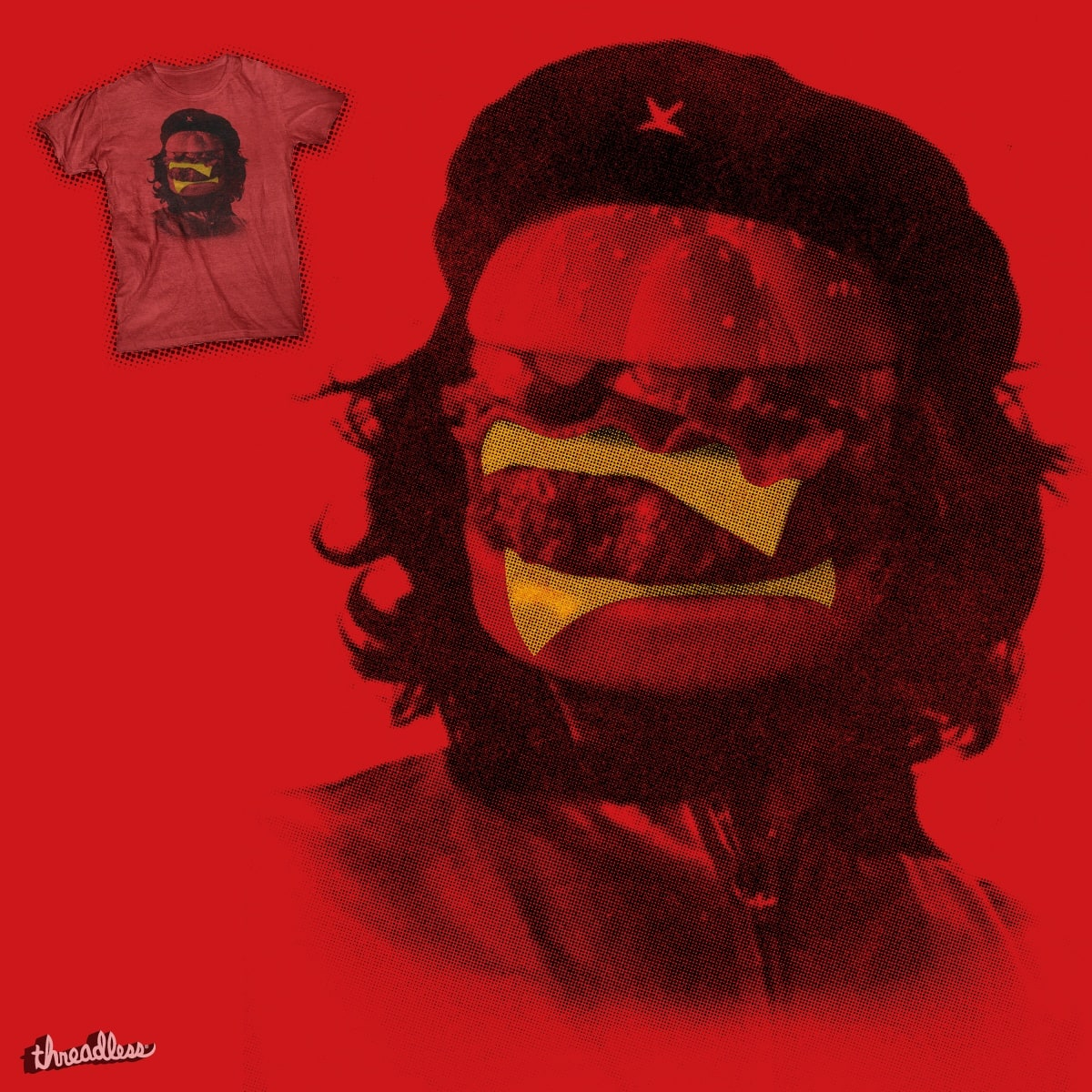 Che Burger by r.o.b.o.t.i.c.octopus on Threadless