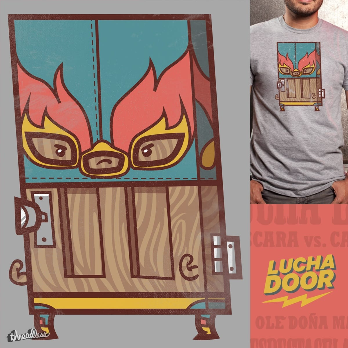 Luchadoor by fightstacy on Threadless