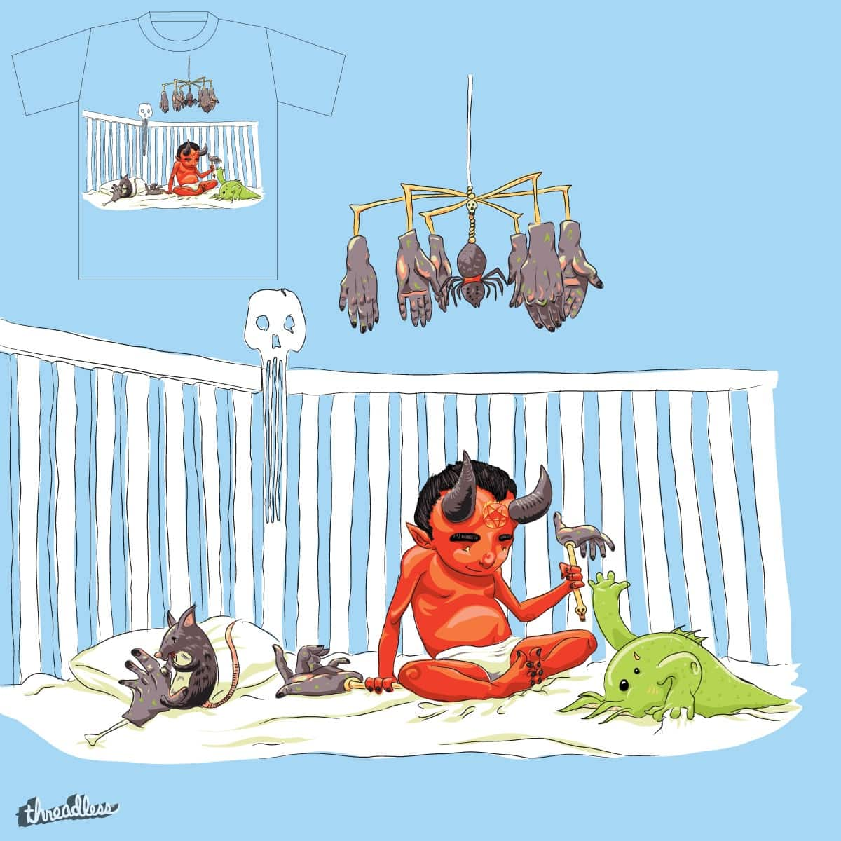 Idle Hands... by wullagaru on Threadless