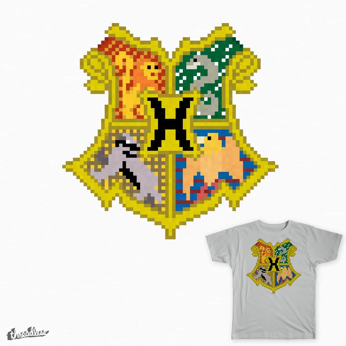 Hogwarts Coat of Arms by EmpireSquared on Threadless