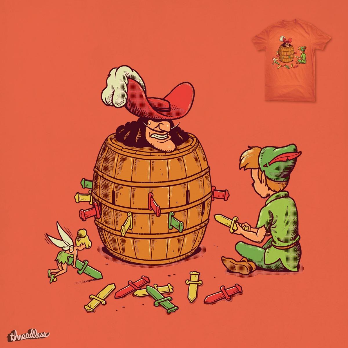 Pirate Barrel Game by ben chen on Threadless