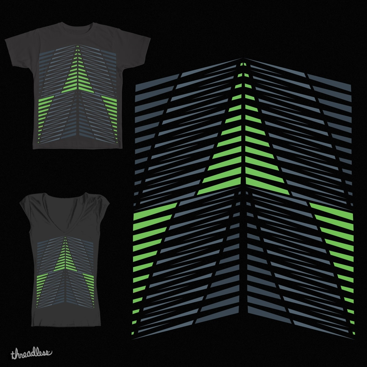 Abstract Staircase by EarthLotus96 on Threadless