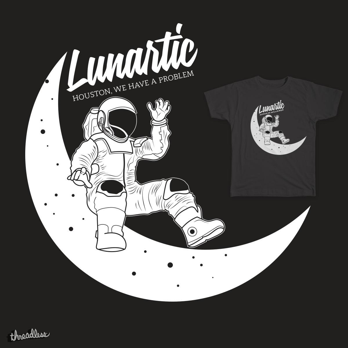 Lunartic by rohan.jha.792 on Threadless