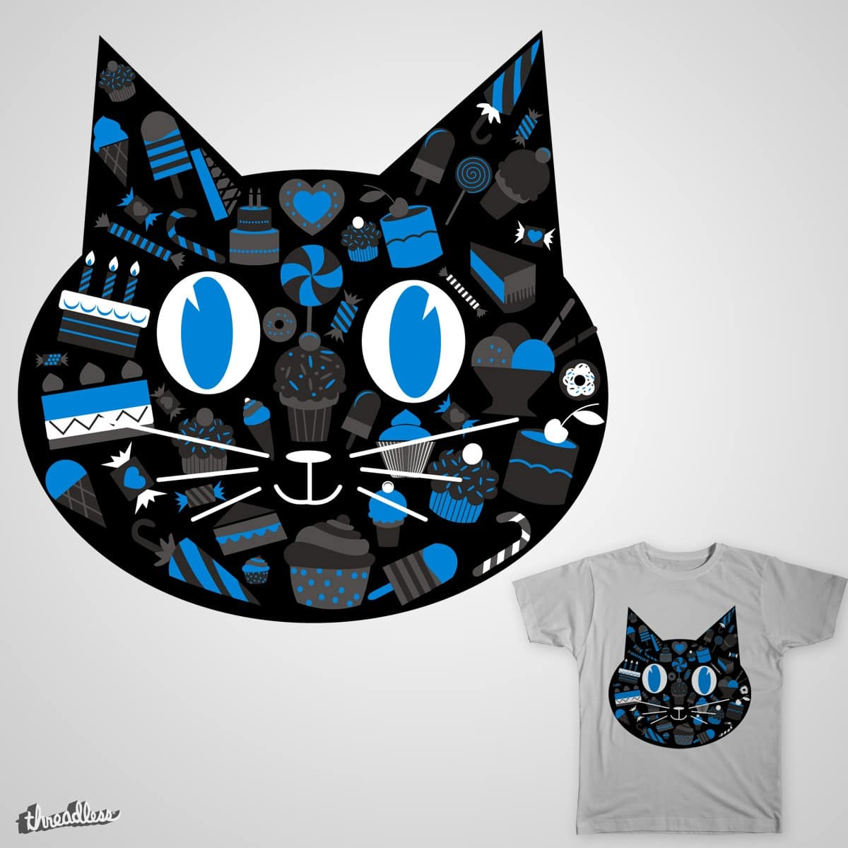 Sweet Kitty by witchboy on Threadless