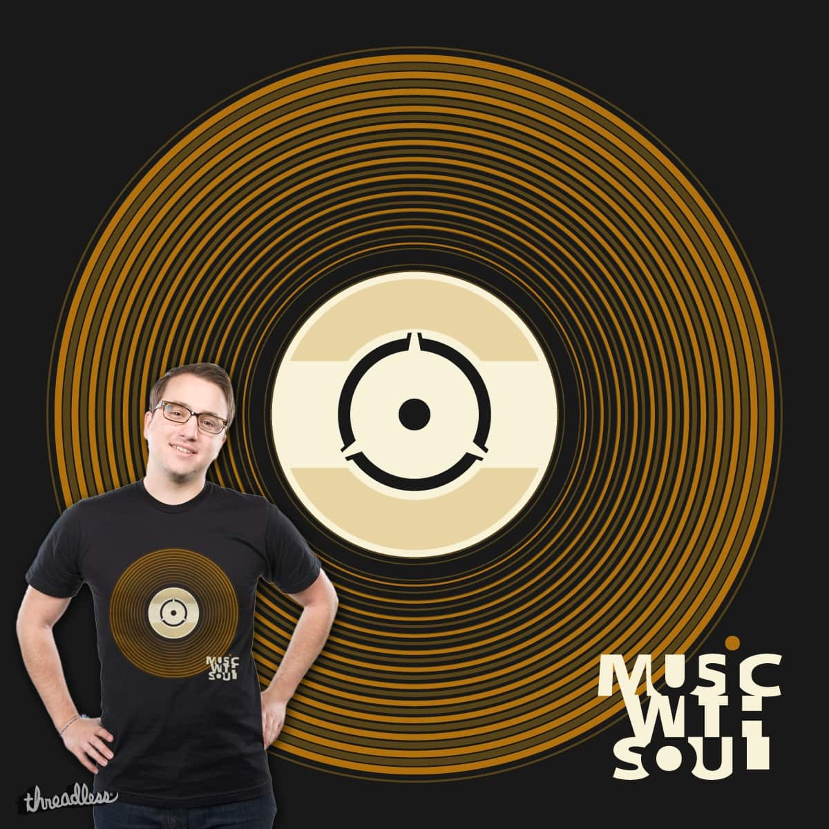 Music with Soul by vd_design on Threadless