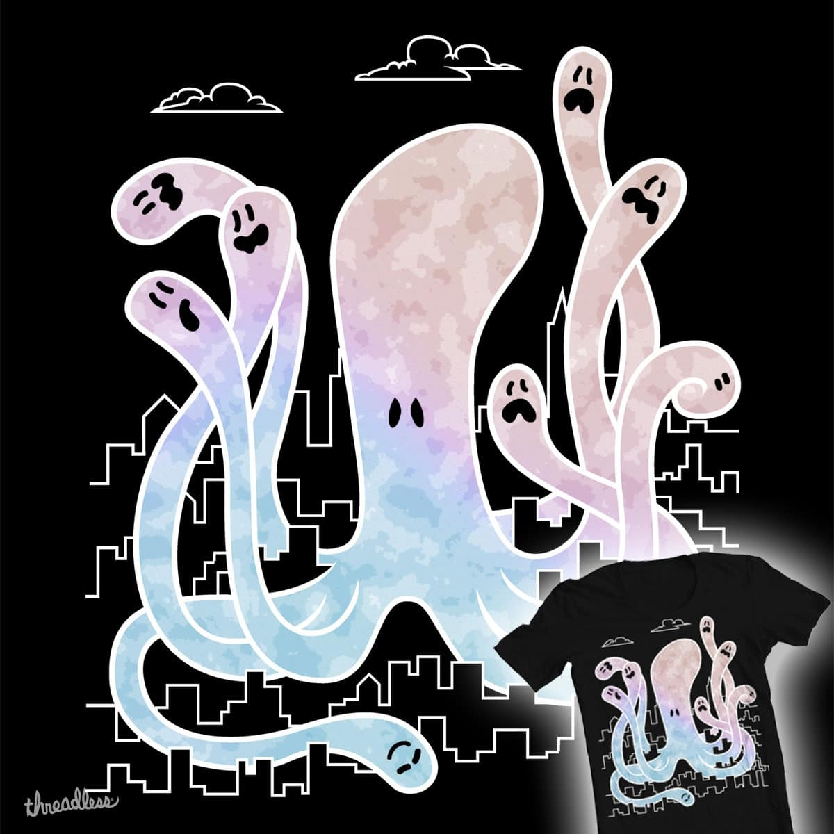 OctoGhost by Profeta999 on Threadless