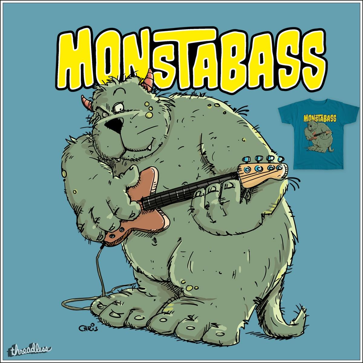 MonstaBass by chrisbears on Threadless