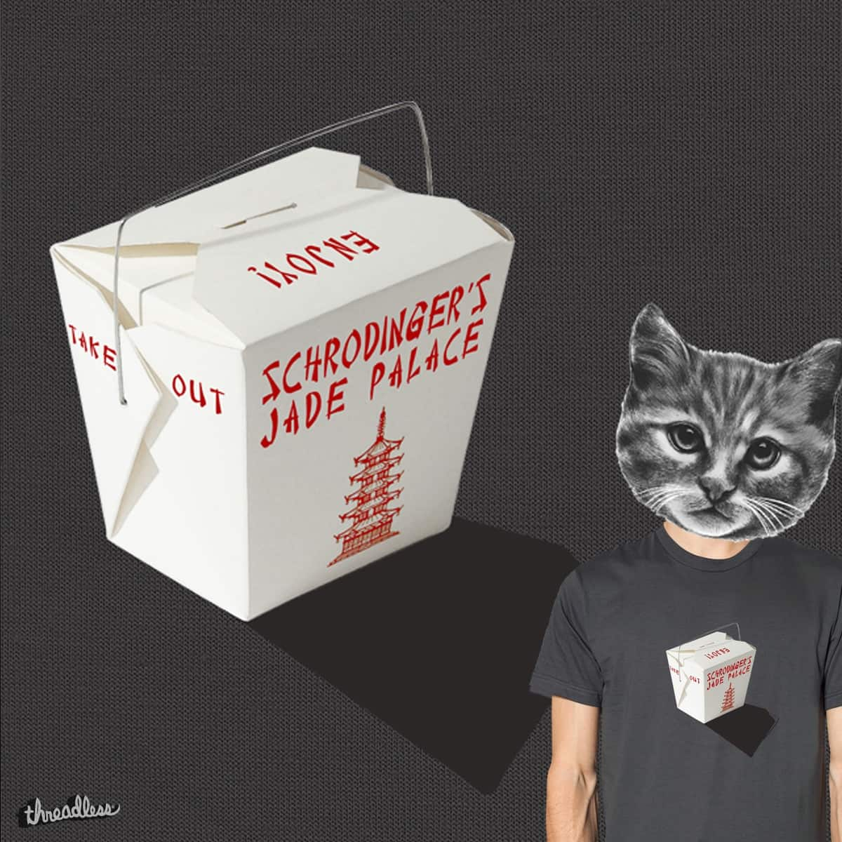 Schrodinger's theory by more.than.ordinary on Threadless