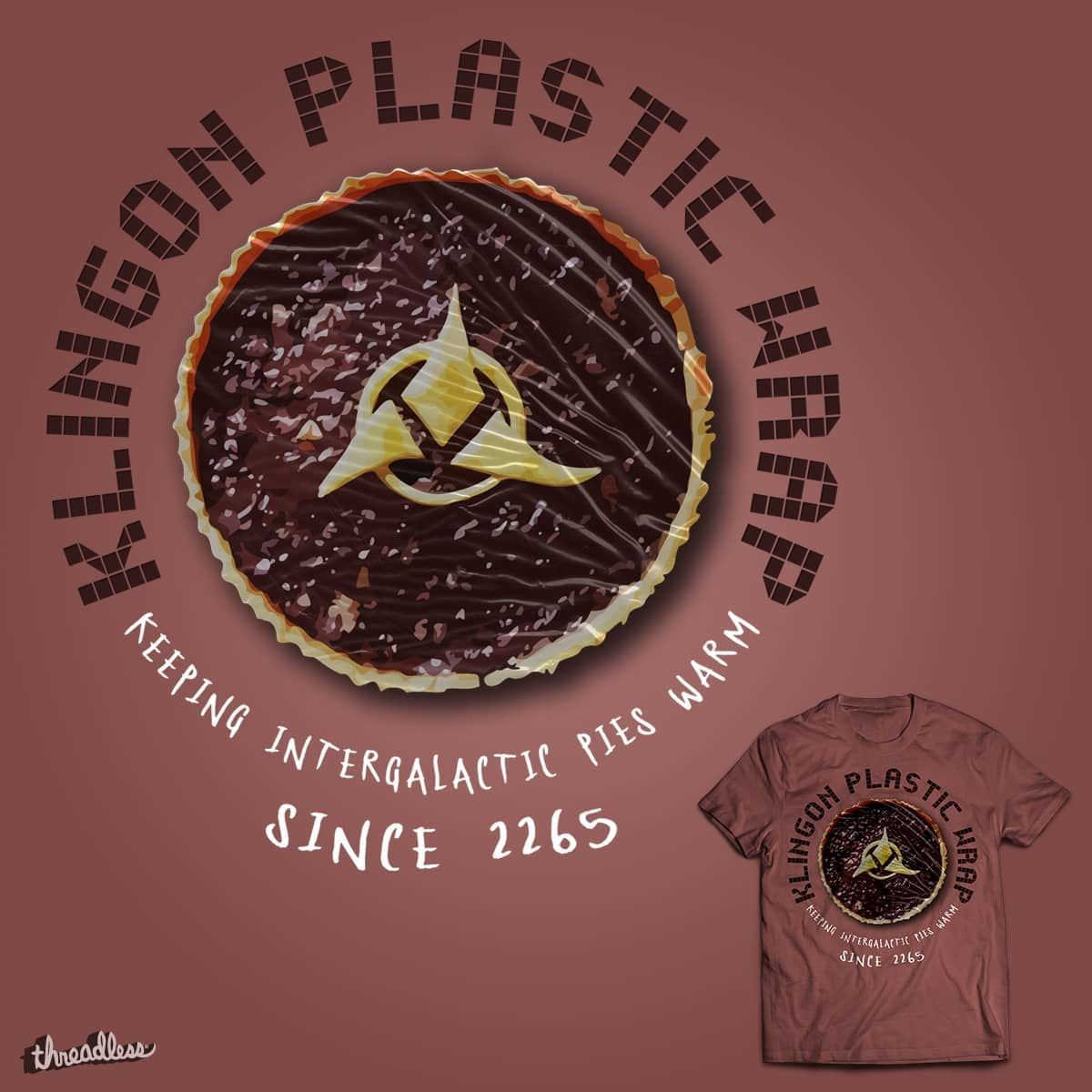 Good Ol' Klingon Plastic Wrap by padabite on Threadless