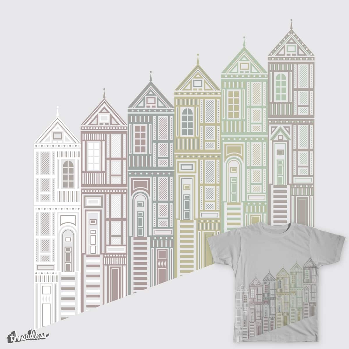 Painted Ladies by clinard on Threadless