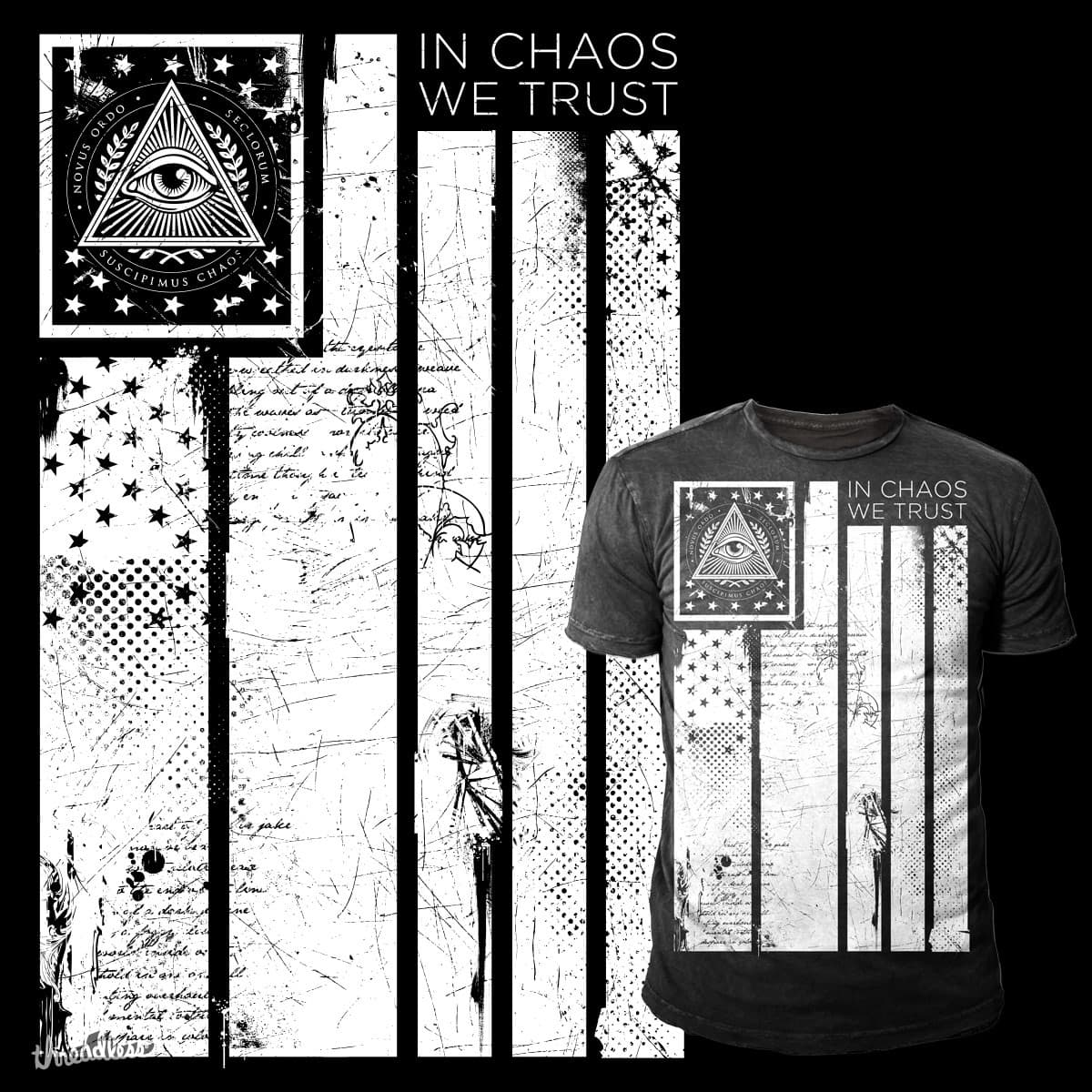 In Chaos We Trust by feed_steven on Threadless