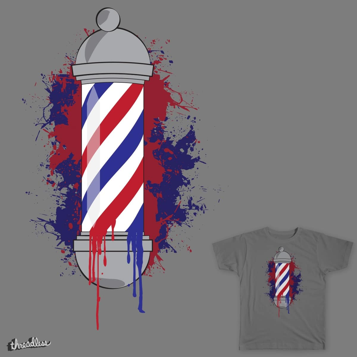 Barbershop by jacobamundsen on Threadless