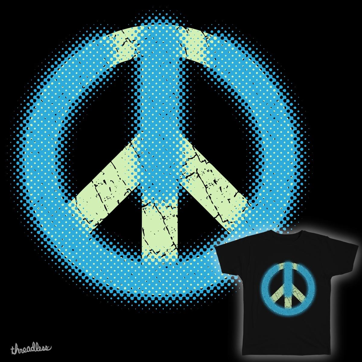 PEACE OFF/ON by shadedash on Threadless