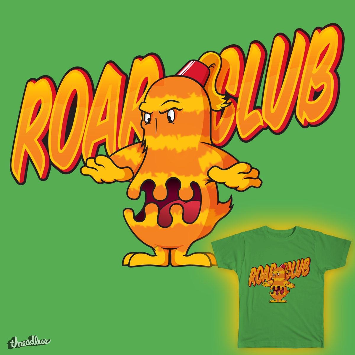 Roar Club! by Profeta999 on Threadless