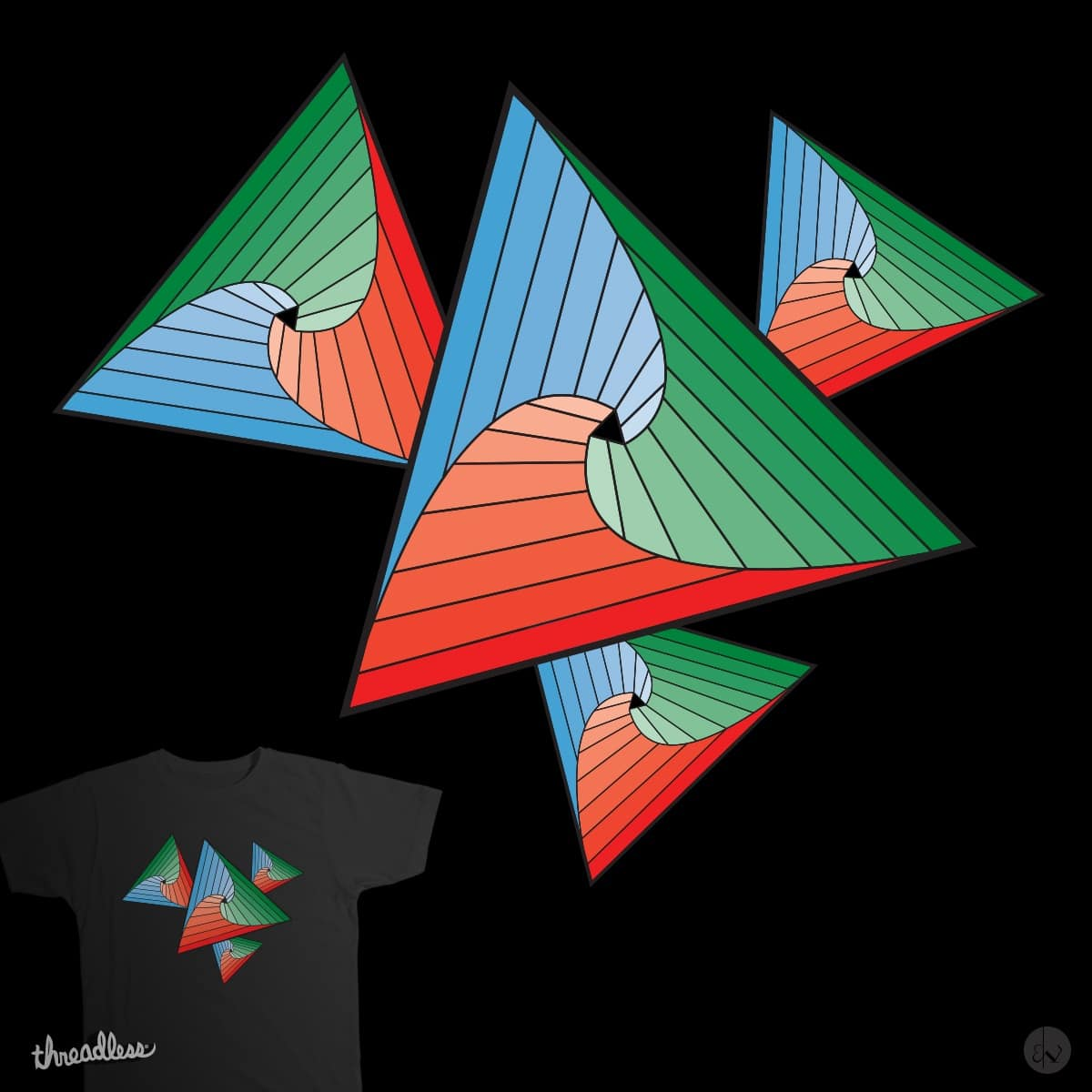 Primary Colors by ibrandonwaite on Threadless