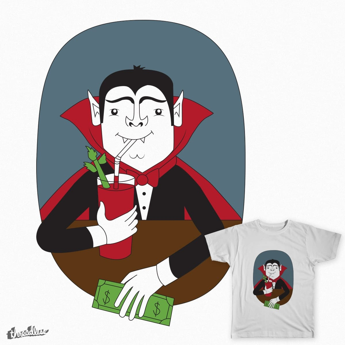 Count Drunkula by taylorgordon9412 on Threadless