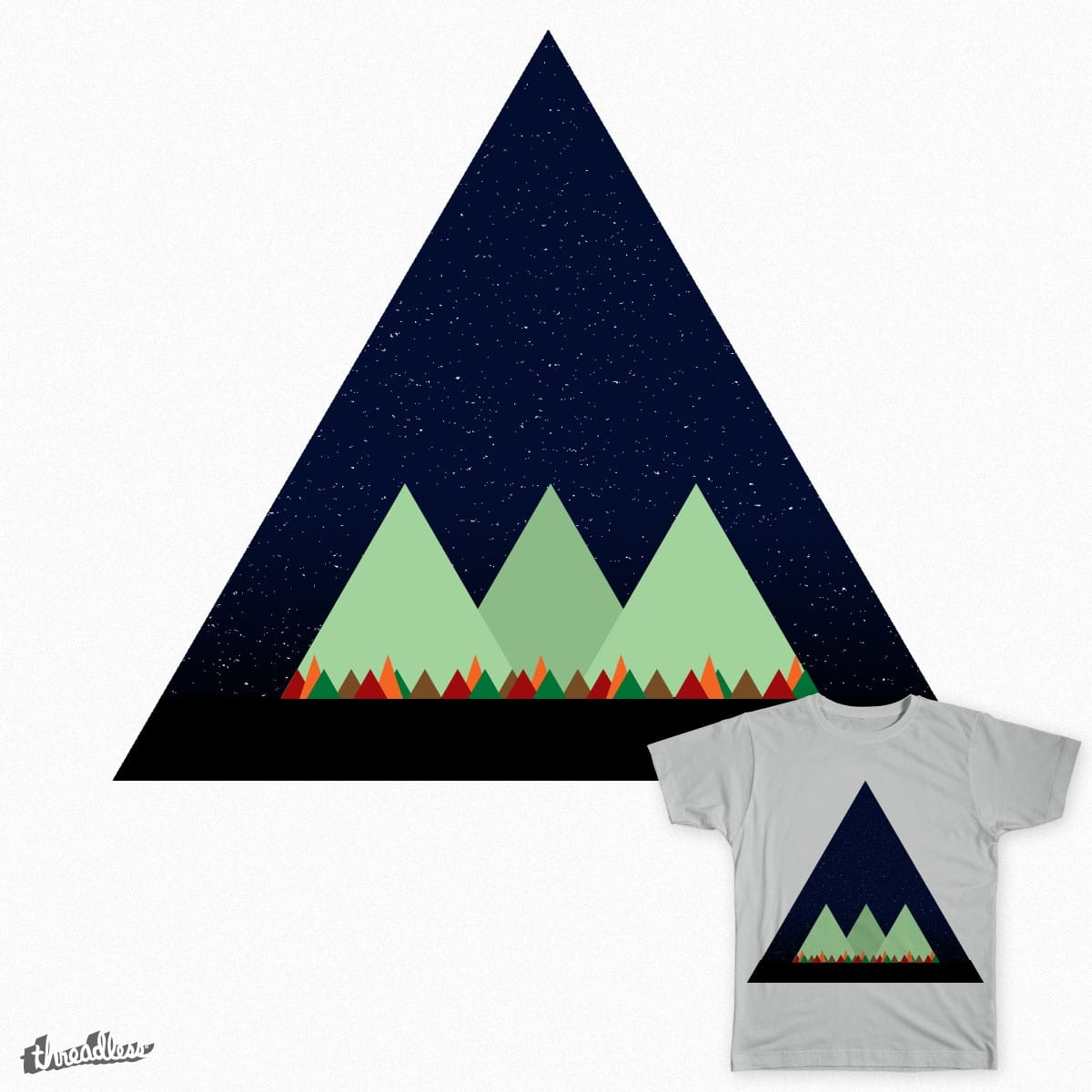 Starry Starry Night by Saree Yong on Threadless