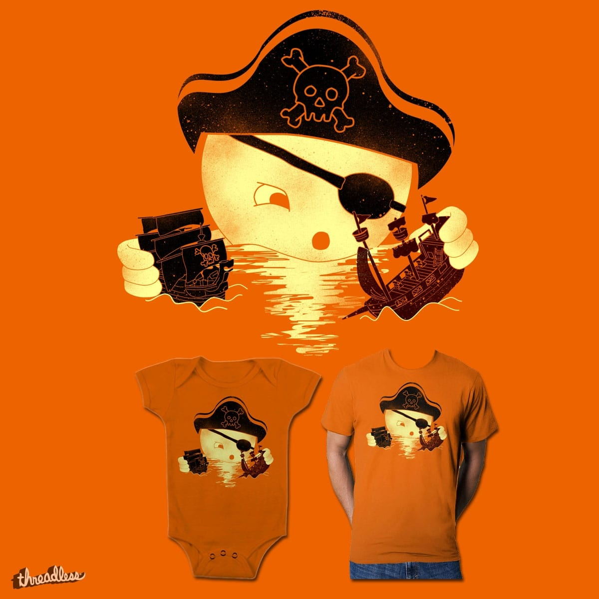 play pirates by dilematiccoma on Threadless