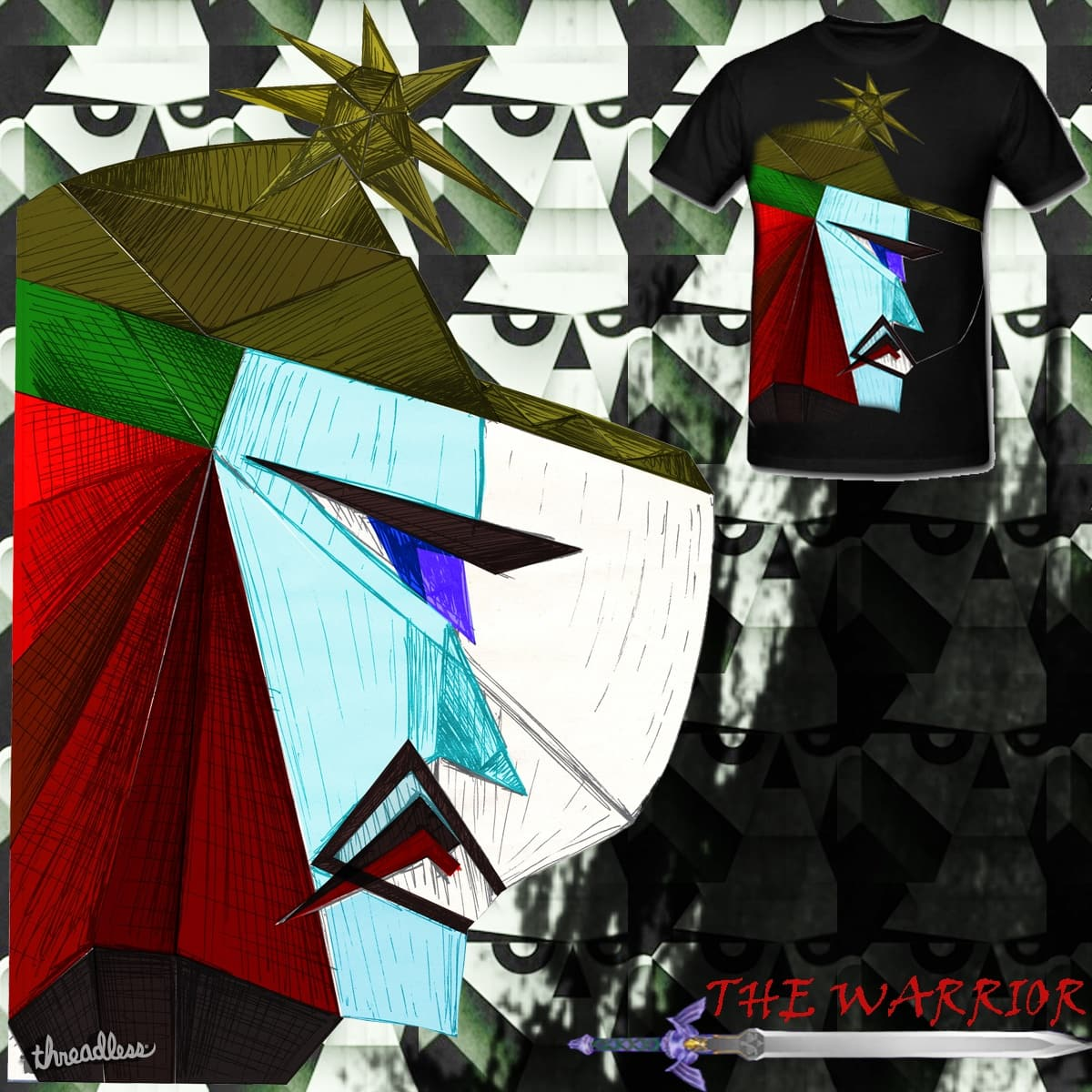 The Warrior by manojs1.pawade on Threadless