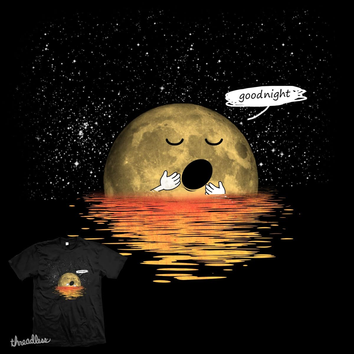 goodnight by mainial on Threadless