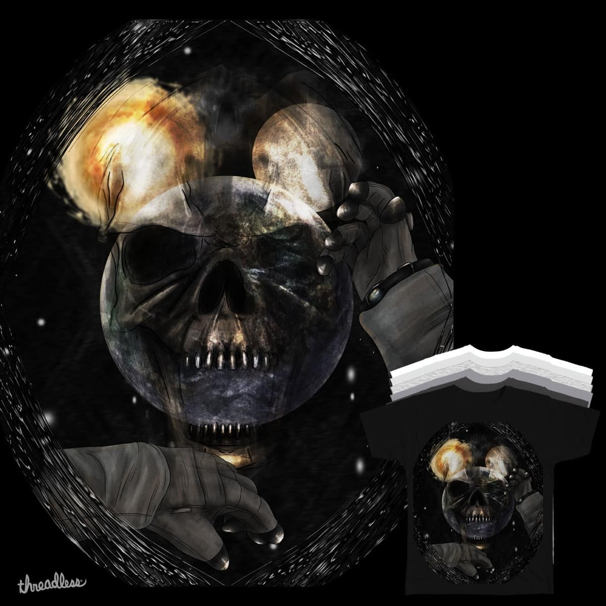 Omen in Space by OliverDemers and goliath72 on Threadless