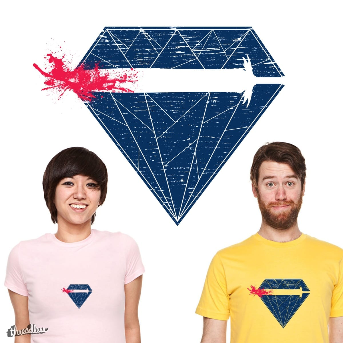 Diamond Game by 3_Atmosphere on Threadless