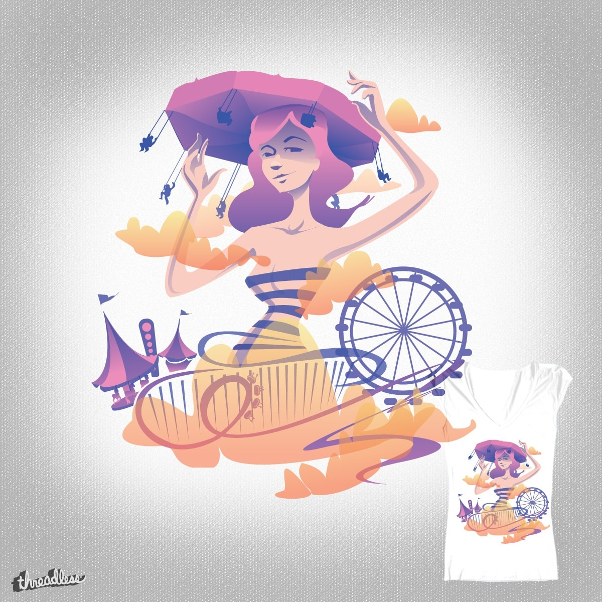 Queen Carnival by smackinkorea on Threadless