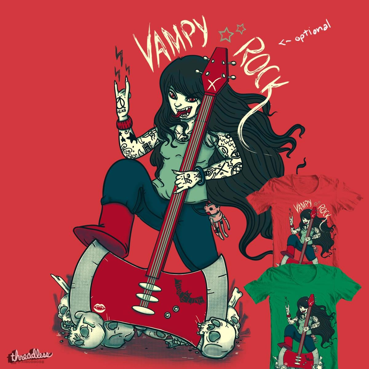 Vampy rock by xiaobaosg on Threadless