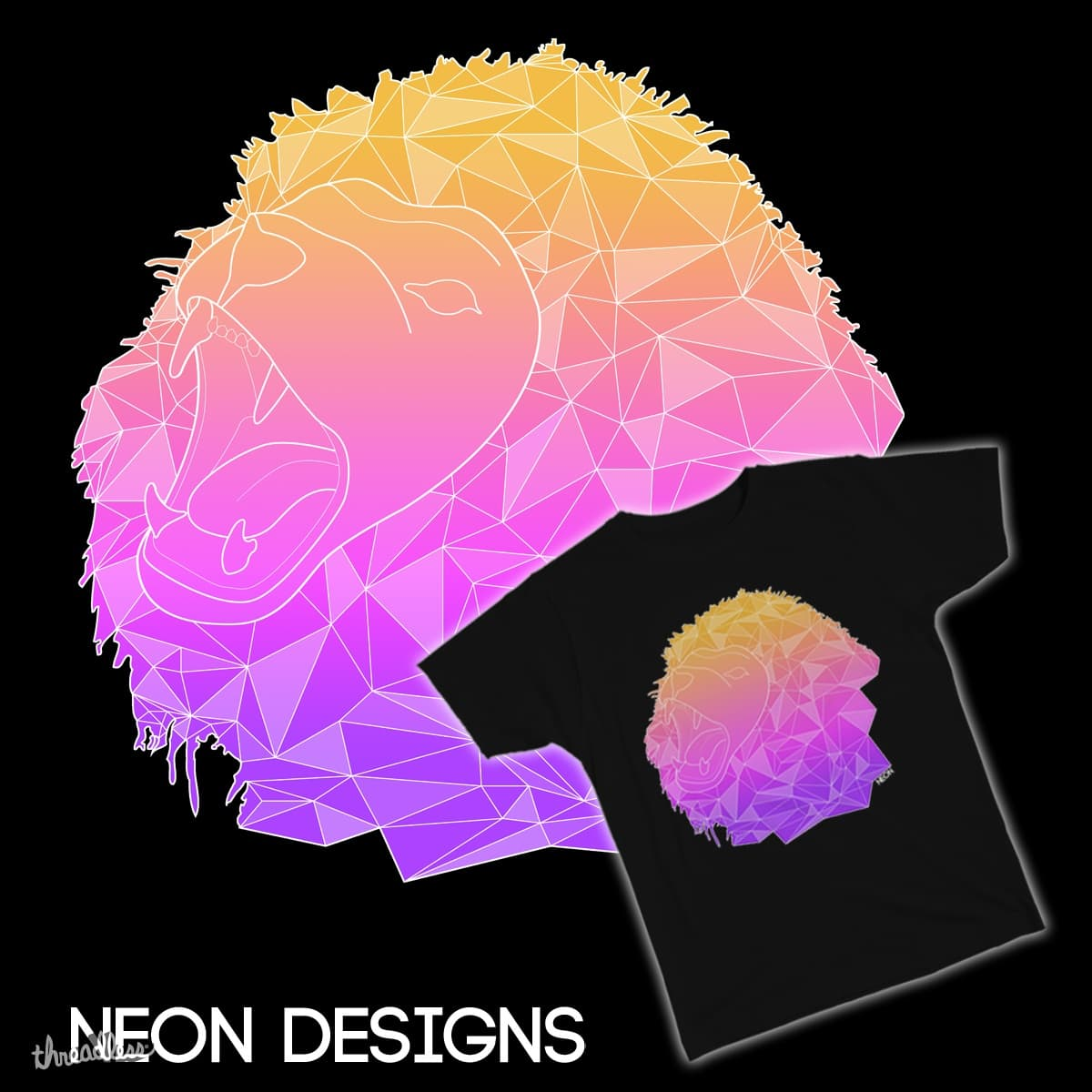 Lion ? by NEOn2424 on Threadless