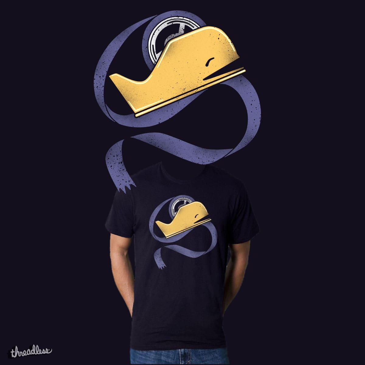 whale by dilematiccoma on Threadless