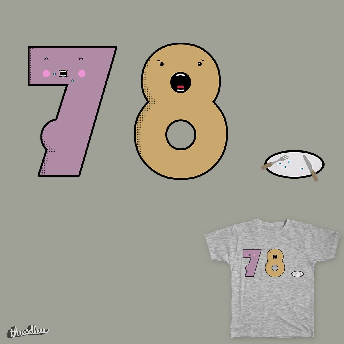 Score Seven Ate Nine By Astheoceansblue On Threadless