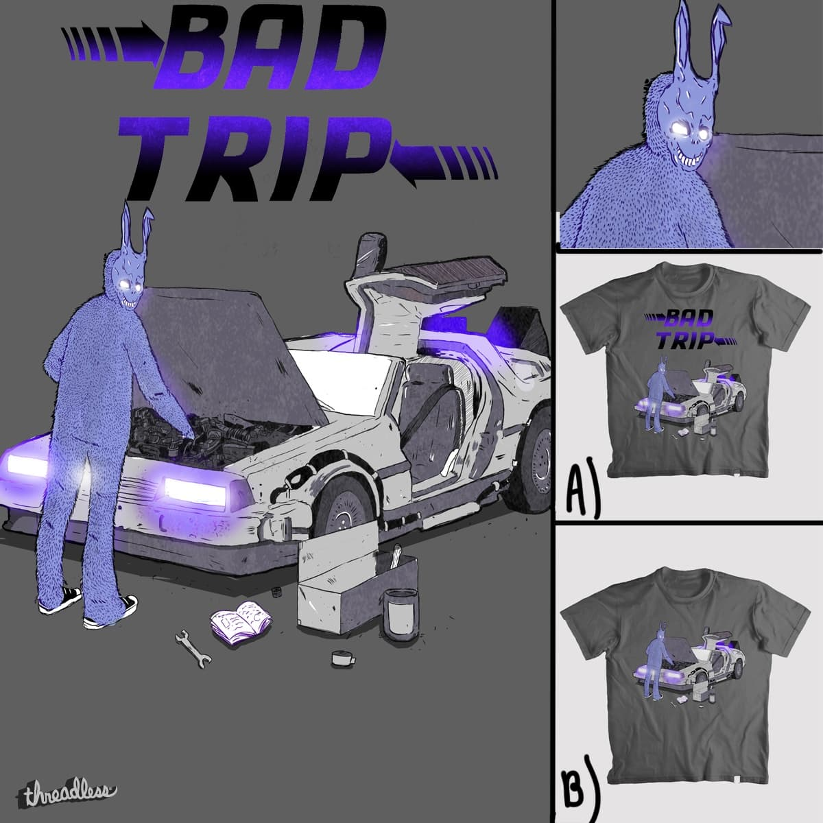 Bad trip by diegorgurgel on Threadless