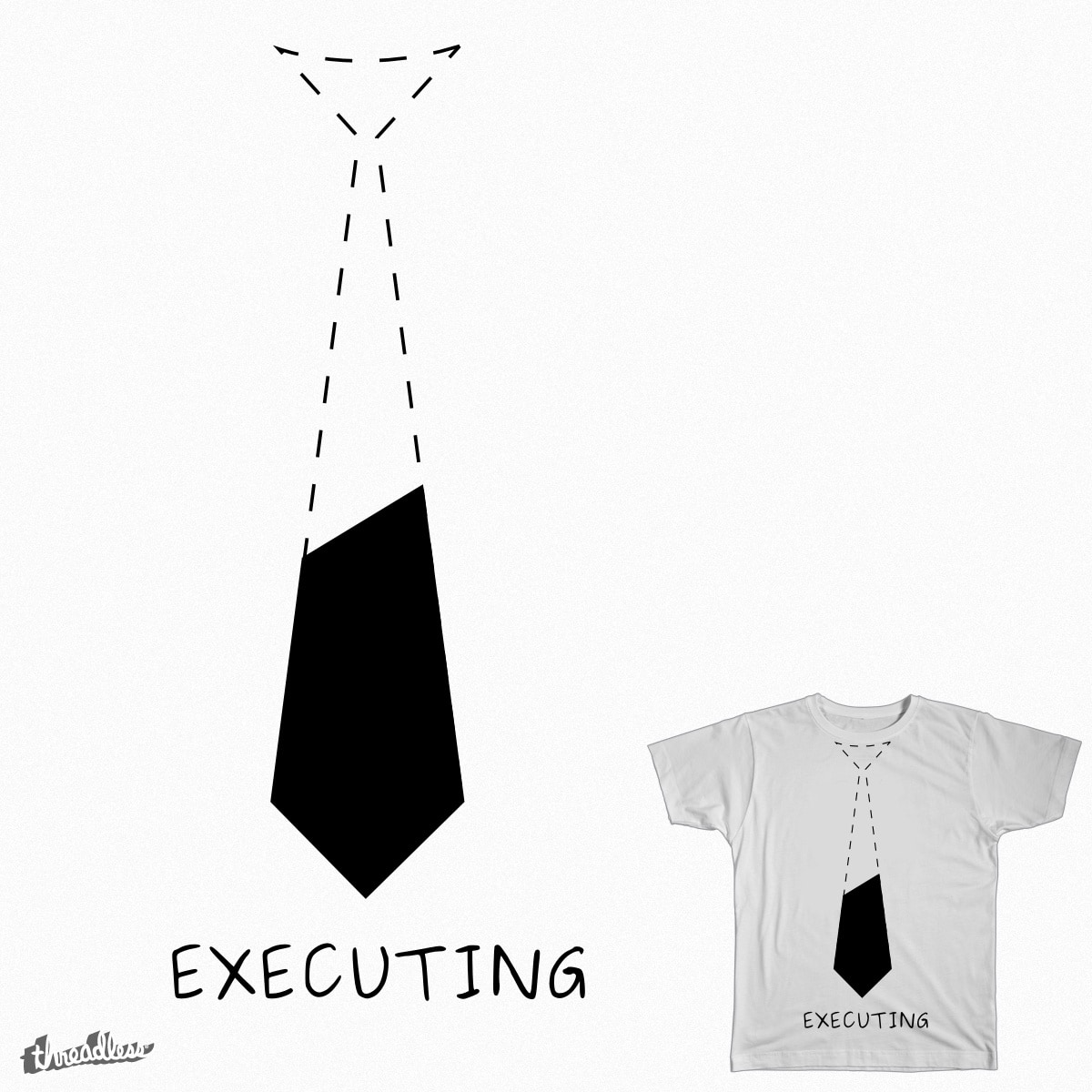 Entrepreneur in Execution by theitoons on Threadless