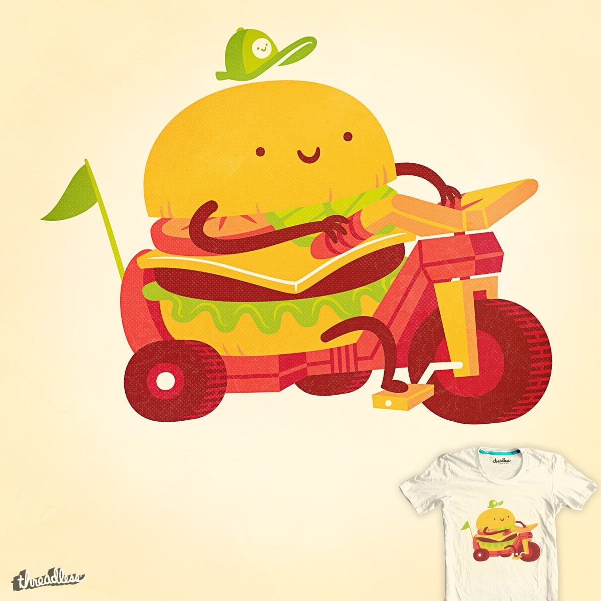 Happy Meal by pilihp on Threadless